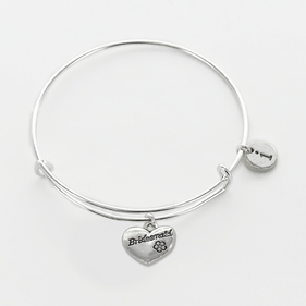 Personalized Bridesmaid Charm Bangle