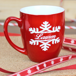 Personalized Christmas Mug