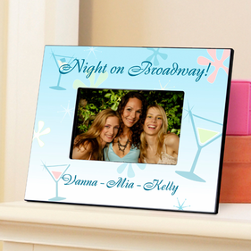 Personalized Girls Picture Frame