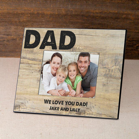 Personalized Classic Dad Father's Day Frame