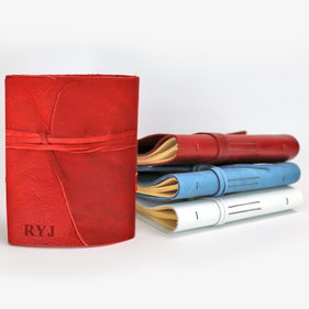 Personalized Color Genuine Leather-Bound Journal