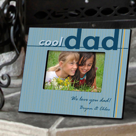 Personalized Cool Dad Frame