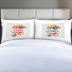 Personalized Couples Pillow Covers