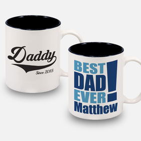 Personalized 11 oz Dad and Grandpa Mug