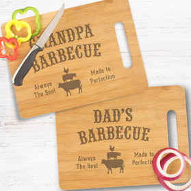 Personalized Dad's Barbecue Cutting Board