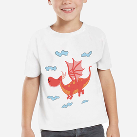 Personalized Dragon Kid's T-Shirt