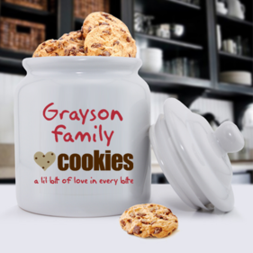 PersonalizedCookies Ceramic Cookie Jar
