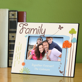 Personalized Family Frames