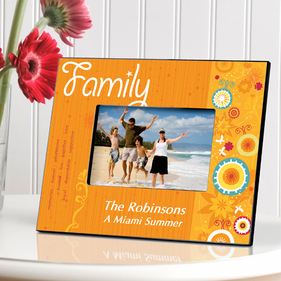Personalized Sunshine Picture Frame