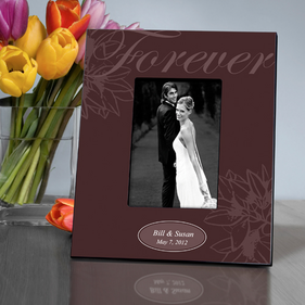 Personalized Forever Picture Frame