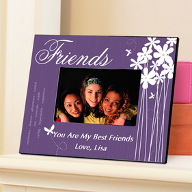 Personalized Butterfly Picture Frame