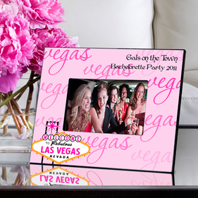 Personalized Las Vegas Picture Frame