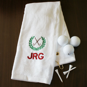 Personalized Golf Hand Towel