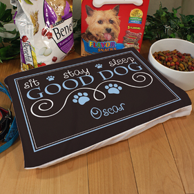 Personalized Good Dog Pet Pillow