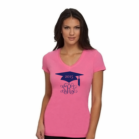 Personalized Graduation  Girl T-Shirt