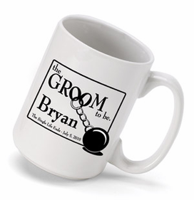 Personalized Mug for Groom