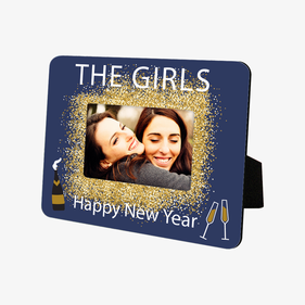 Personalized Happy New Year Hardboard Frame