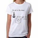 Personalized I'll Turn You On Design Women's T-Shirt