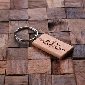 Personalized Key Chain - Rectangular