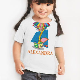 Personalized Kids Jack In The Box T-Shirt