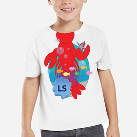 Personalized Kids Lobster T-Shirt