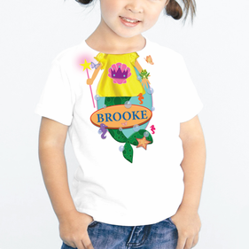 Personalized Kids Mermaid T-Shirt