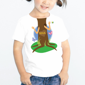 Personalized Kids Tree Hugger T-Shirt