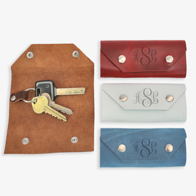 Personalized Leather Key Holder