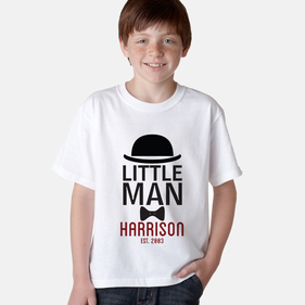 Personalized Little Man T-Shirt