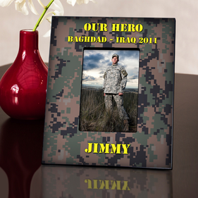 Personalized Military Frame