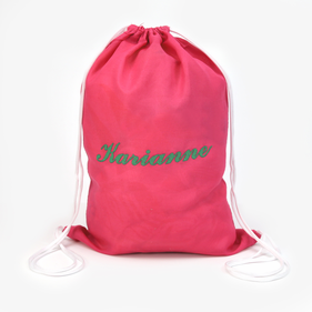 Personalized Mini Drawstring Bag