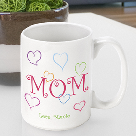 Personalized Mug for Mothers Love