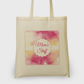 Personalized Mom's Stuff Tote Bag