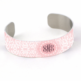 Personalized Monogram Cuff Bracelet