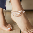 Personalized Name Anklet