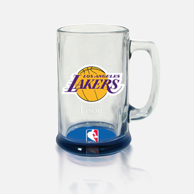 Personalized NBA Bottoms-Up Mug