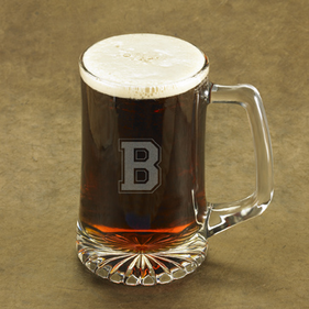Personalized One Initial Sports Mug
