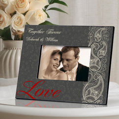 Personalized Passionate Picture Frame