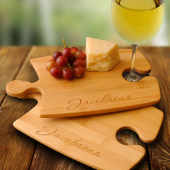 Personalized Puzzle Cutting Board Set