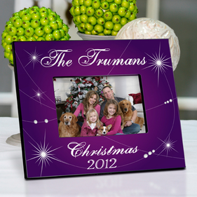 Personalized Picture Frame - Christmas Star