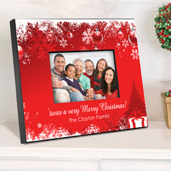 Personalized Picture Frame - Holiday Surprises
