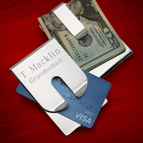 Personalized Polished Money Clip