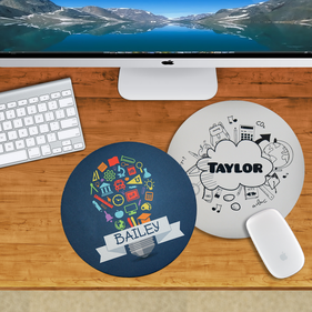 Personalized Round Mouse Pads