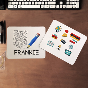 Personalized Rectangular Mouse Pads