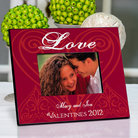 Personalized Roses Picture Frame