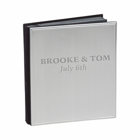 Personalized Satin Finished Metal Album