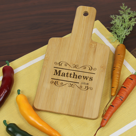 Personalized Serving Board