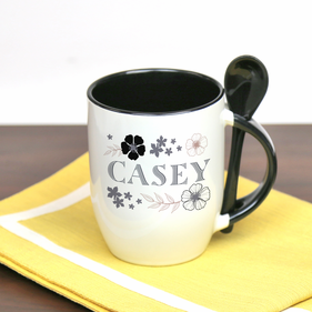 Personalized Spoon Mug