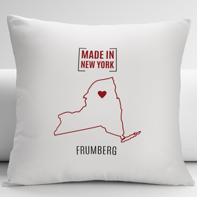 Personalized State Design Decorative Pillow Cushion Cover