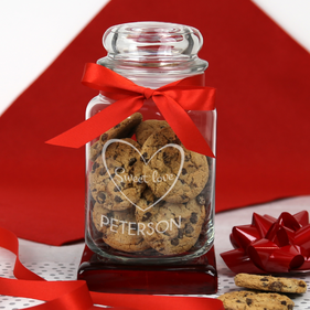 Personalized Sweet Love Glass Jar